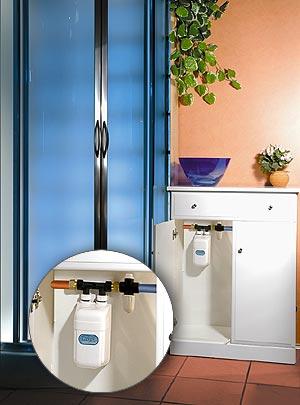 Podrzewacz wody Dafi pod prysznic