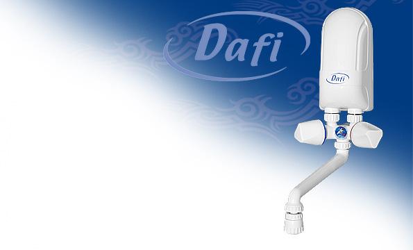 Przepływowe ogrzewacze wody Dafi